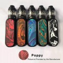 Authentic OBS Cube 80W 3000mAh VW Variable Wattage Starter Kit - Poppy, Zinc Alloy + Resin + SS, 5~80W, 4ml, 0.2 Ohm