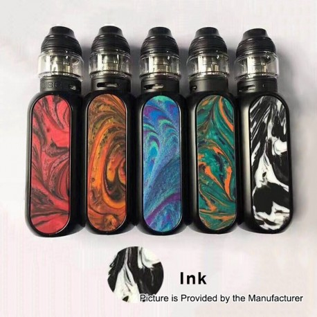 Authentic OBS Cube 80W 3000mAh VW Variable Wattage Starter Kit - Ink, Zinc Alloy + Resin + SS, 5~80W, 4ml, 0.2 Ohm
