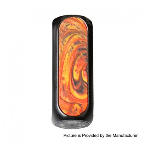Authentic OBS Cube 80W 3000mAh VW Variable Wattage Box Mod - Sunset, Zinc Alloy + Resin + SS, 5~80W