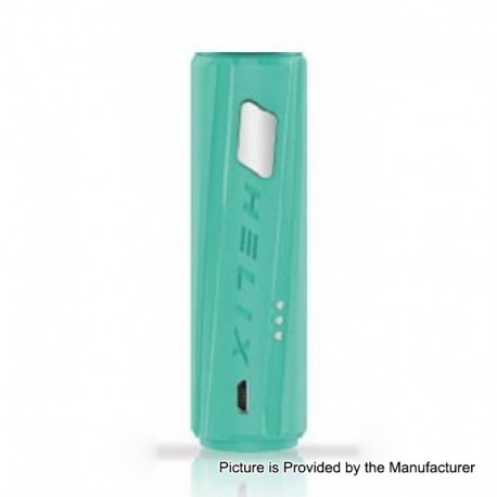 Authentic Digiflavor Helix Direct Voltage Output Box Mod - Green, ABS, 1 x 18650