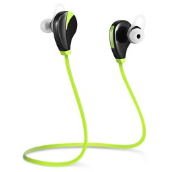 G6 Wireless Bluetooth 4.0 Earphone Headphone for Sports - Black And Green