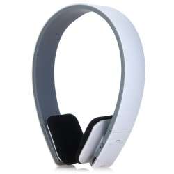 BQ - 618 Wireless Bluetooth V4.1 + EDR Headset Support Handsfree with Intelligent Voice Navigation for Cellphone Tablet - White