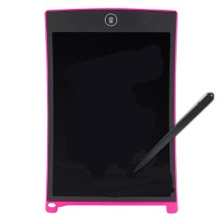 8.5 Inches LCD Digital Writing Tablet Portable Electronic Graphics Board - Pale Violet Red