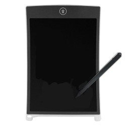 8.5 Inches LCD Digital Writing Tablet Portable Electronic Graphics Board - White
