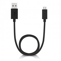 Micro-USB Data / Charging Cable Original Cable for Motorola Turbo Power 15 USB Charger - Supports Quick Charge QC 2.0 - Black