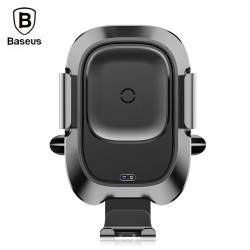 Baseus WXZN - 01 Car Mount Wireless Charger for 4.0 - 6.5 inch Mobile Phone - Black