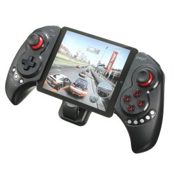iPega PG-9023 Wireless Bluetooth Game Controller Gamepad Joystick with Stretch Bracket for iPhone 6 Plus iOS Android - Black