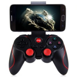 T3 Wireless Bluetooth 3.0 Gamepad Gaming Controller for Android System - Black