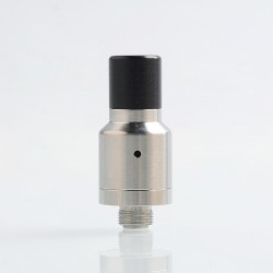 YFTK Speed Style RDA Rebuildable Dripping Atomizer w/ BF Pin - Silver, 316 Stainless Steel, 14mm Diameter