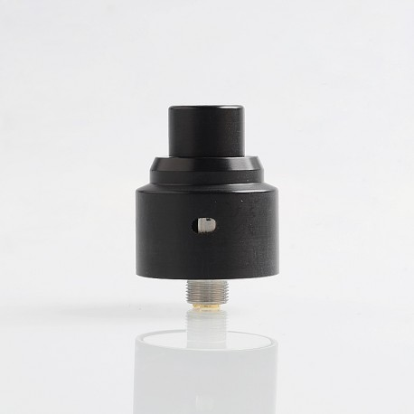 Fantasy Style RDA Rebuildable Dripping Atomizer w/ BF Pin - Black, POM + 316 Stainless Steel, 22.5mm Diameter
