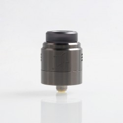 Authentic Vandy Vape Widowmaker RDA Rebuildable Dripping Atomizer w/ BF Pin - Gun Metal, Stainless Steel, 24mm Diameter