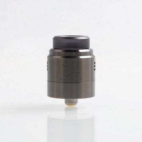 Authentic Vandy Vape Widowmaker RDA Rebuildable Dripping Atomizer w/ BF Pin - Gun Metal, Stainless Steel, 24mm Diameter