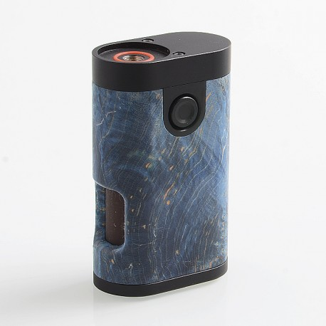 ShenRay Armor Style BF Squonk Mechanical Box Mod - Random Color, Stabilized Wood + SS + Brass, 1 x 18650, 8ml