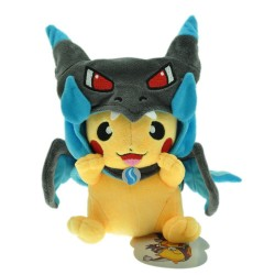 Pikachu 9 Inch Plush Doll Stuffed Cartoon Toy - Gray