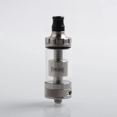 Coppervape Penodat Style MTL RTA Rebuildable Tank Atomizer - Silver, 316 Stainless Steel, 4ml, 22mm Diameter
