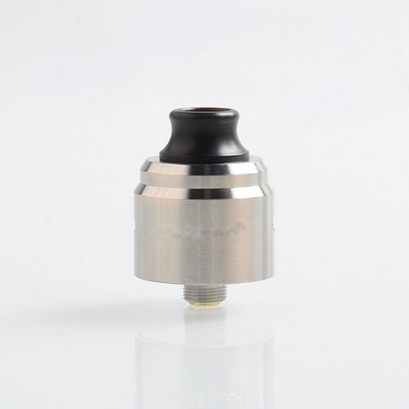 YFTK Taifun Typhoon BTD Wave Style RDA Rebuildable Dripping Atomizer w/ BF Pin - Silver, 316 Stainless Steel, 22mm Diameter