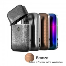 Authentic Vaporesso Aurora Play Lighter 20W 650mAh Pod System Starter Kit - Bronze, 2ml, 1.3 / 0.65 Ohm
