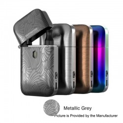 Authentic Vaporesso Aurora Play Lighter 20W 650mAh Pod System Starter Kit - Metallic Grey, 2ml, 1.3 / 0.65 Ohm
