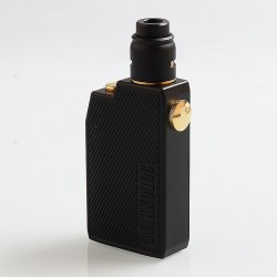 Authentic Advken CP Squonking Mechanical Box Mod + RDA Kit - Black, 1 x 18650, 7ml