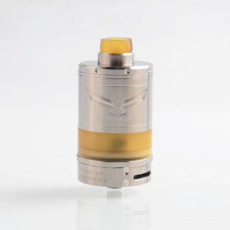 ShenRay VG V5 XL Style RTA Rebuildable Tank Atomizer - Silver, 316 Stainless Steel, 14ml, 32.5mm Diameter