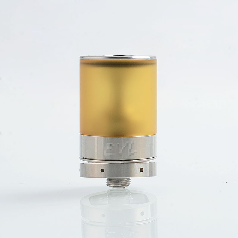 Buy EVL Reaper V3 Style RTA Silver 316SS 2ml 22mm Tank Atomizer