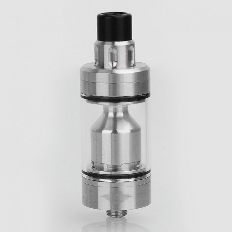 YFTK Skyline Style RTA Rebuildable Tank Atomizer - Silver, 316 Stainless Steel, 4ml, 22mm Diameter