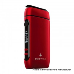 Authentic Flowermate Swift Pro 1000mAh Dry Herb Vaporizer Aroma Therapy Device - Red