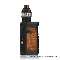 Authentic Vandy Vape Jackaroo 100W TC VW Box Mod + Jackaroo Tank Kit - Orange Viper, 5~100W, 1 x 18650 / 20700 / 21700, 5ml