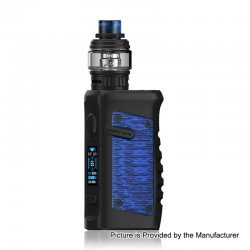 Authentic Vandy Vape Jackaroo 100W TC VW Box Mod + Jackaroo Tank Kit - Blue Python, 5~100W, 1 x 18650 / 20700 / 21700, 5ml