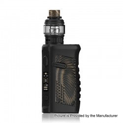 Authentic Vandy Vape Jackaroo 100W TC VW Box Mod + Jackaroo Tank Kit - American Eagle, 5~100W, 1 x 18650 / 20700 / 21700, 5ml