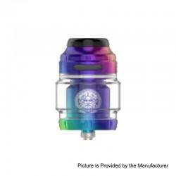 Authentic GeekVape Zeus X RTA Rebuildable Tank Atomizer - Rainbow, Stainless Steel, 4.5ml, 25mm Diameter