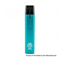 Authentic Asmodus Flow 500mAh Pod System Starter Kit - Blue, 2ml, 2.5 Ohm
