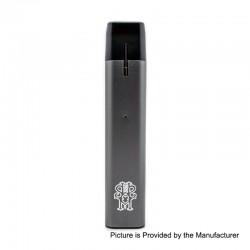 Authentic Asmodus Flow 500mAh Pod System Starter Kit - Grey, 2ml, 2.5 Ohm