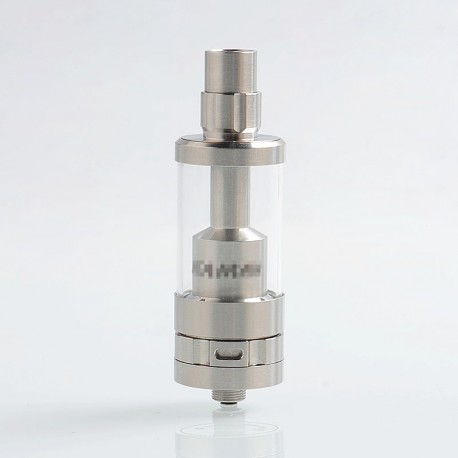 YFTK Ataman V4 Style RTA Rebuildable Tank Atomizer - Silver, 316 Stainless Steel, 4ml, 22mm Diameter