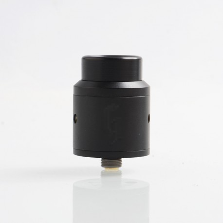 Goon 25 Style RDA Rebuildable Dripping Atomizer w/ BF Pin - Black, Stainless Steel, 24mm Diameter