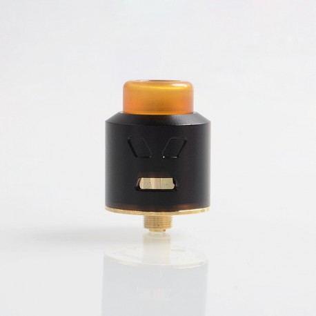 Authentic Smoant Battlestar Squonker RDA Rebuildable Dripping Atomizer w/ BF Pin - Black, Brass + SS, 24mm Diameter