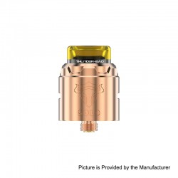 Authentic ThunderHead Creations THC Tauren Solo RDA Rebuildable Dripping Atomizer w/ BF Pin - Copper, 2ml, 24mm Diameter