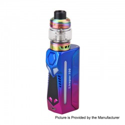 Authentic Yosta Livepor 100W TC VW Box Mod + IGVI M2 Tank Kit - Tri-Color, 5~100W, 1 x 18650 / 20700 / 21700, 6ml, 0.15 Ohm