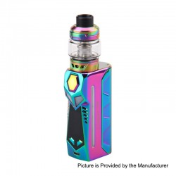Authentic Yosta Livepor 100W TC VW Box Mod + IGVI M2 Tank Kit - Rainbow, 5~100W, 1 x 18650 / 20700 / 21700, 6ml, 0.15 Ohm
