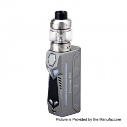 Authentic Yosta Livepor 100W TC VW Box Mod + IGVI M2 Tank Kit - Grey, 5~100W, 1 x 18650 / 20700 / 21700, 6ml, 0.15 Ohm