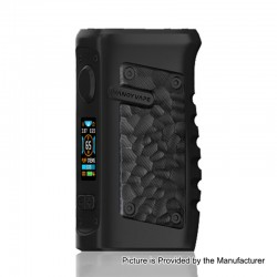 Authentic Vandy Vape Jackaroo 100W TC VW Variable Wattage Box Mod - Obsidian Black, 5~100W, 1 x 18650 / 20700 / 21700