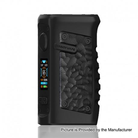 Authentic Vandy Vape Jackaroo 100W TC VW Variable Wattage Box Mod - Obsidian Black, 5~100W, 1 x 18650 / 20700 / 21700
