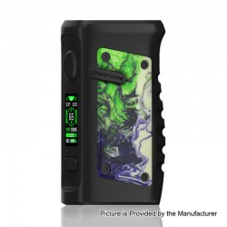 Authentic Vandy Vape Jackaroo 100W TC VW Variable Wattage Box Mod - Green Jade, 5~100W, 1 x 18650 / 20700 / 21700