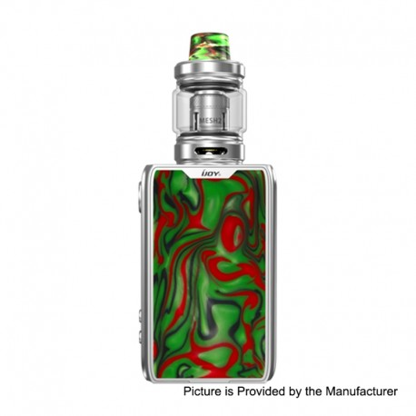 Authentic IJOY Shogun JR 126W 4500mAh TC VW Box Mod + Shogun Tank Kit - S-Specter Green, 5~126W, 6ml, 0.2 Ohm