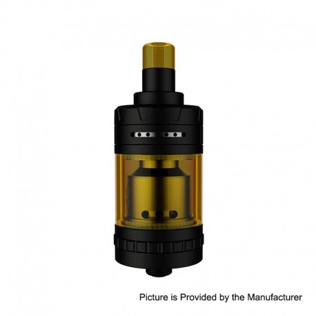 Authentic eXvape eXpromizer V4 MTL RTA Rebuildable Tank Atomizer - Matte Black, Stainless Steel, 2ml, 23mm Diameter