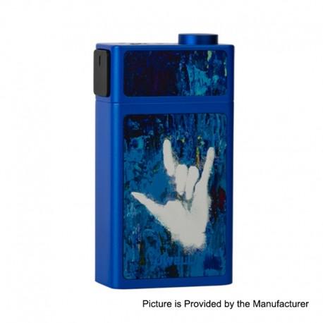 Authentic Uwell Blocks 90W Juice Pump Squonk Box Mod - Sapphire Blue, 1 x 18650, 15ml