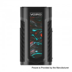 Authentic Voopoo X217 217W TC VW Variable Wattage Box Mod - P-Purple Jade, 5~217W, 2 x 18650 / 20700 / 21700
