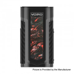 Authentic Voopoo X217 217W TC VW Variable Wattage Box Mod - P-Scarlet, 5~217W, 2 x 18650 / 20700 / 21700