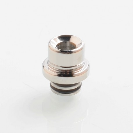 SteamTuners T9 Style 510 Drip Tip for RDA / RTA / Sub Ohm Tank - Silver, Stainless Steel, 14.5mm