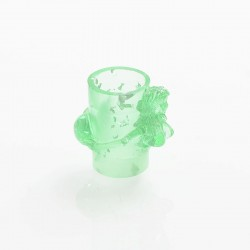 810 Beauty Style Drip Tip for Goon / Kennedy / Reload / Battle RDA - Green, Resin, 22mm
